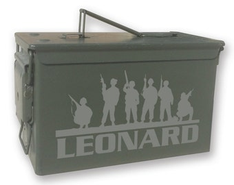 Personalized Engraved Ammo can - 14136 Band of Brothers Personalized-Ammo Can
