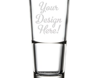 Customized Drinking Glass - 16 oz. - 10532 Your Design Here!