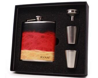 Custom Flask Gift Set