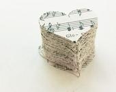 Découpes coeur confettis de Table Decor de mariage