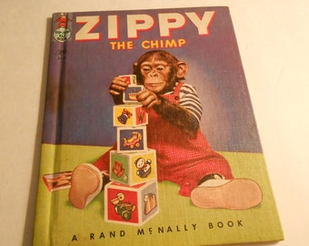 Zippy the Chimp vintage photos book 1953