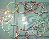 WHOLESALE LOT P OF 12 Single Loop Bracelet - Proceeds Benefit Cancer Research