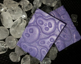 Ghost Face Witches Brew Scent Goat's Milk Soap -- Patchouli, Cedarwood, Halloween!