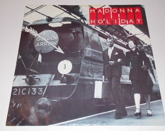 "1983 - Madonna - Holiday - 12"" Single Vinyl Record - 80's / Classic Pop"