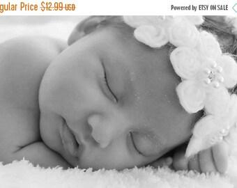 10% off SALE Baby headband, newborn headband, adult headband, child headband and photography prop The Helena sprinkle headband