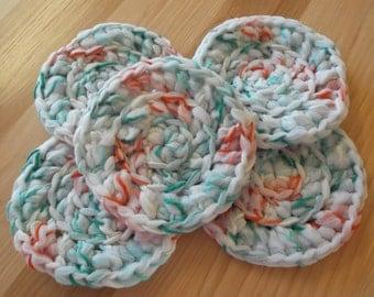 Crochet Dish Scrubbers, Crochet Pot Scrubbers, Scrubbers