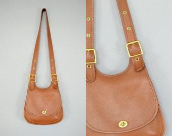 COACH Berkeley Crescent Saddle Bag