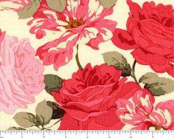 SALE! Rose Garden - Stripped Rose  Martha Negley for Rowan/Westminster PWMN070-Bright