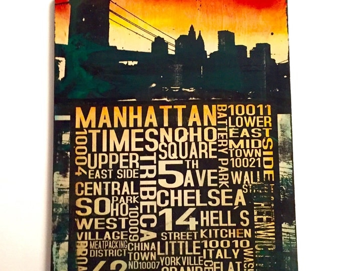 Manhattan Collage