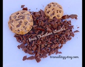 Faux Chocolate Chips , Polymer Clay Chocolate Chunks , 5 Grams ,Decoden Chocolate , Cell Phone, Chocolate, Cookies, Cakes, By: Tranquilityy