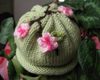 Baby Sakura Blossom Hat