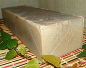 Frankincense & Myrrh Whole 3.5 Pounds Milk Soap Loaf with Argan Oil and Shea Butter