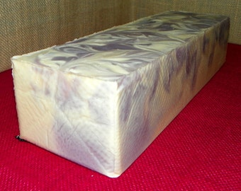 Lavender Ylang Whole 3.5 Pounds Milk Soap Loaf - Cold Process Soap with Argan Oil and Shea Butter