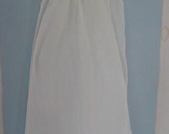 Handmade Vintage Doll Christening Gown & Slip