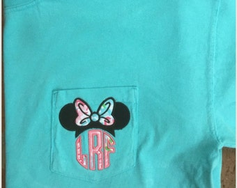 Short Sleeve - Comfort Colors, Minnie and Lilly - what could be better :)