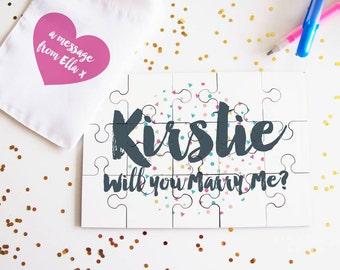 Message Confetti Jigsaw Puzzle
