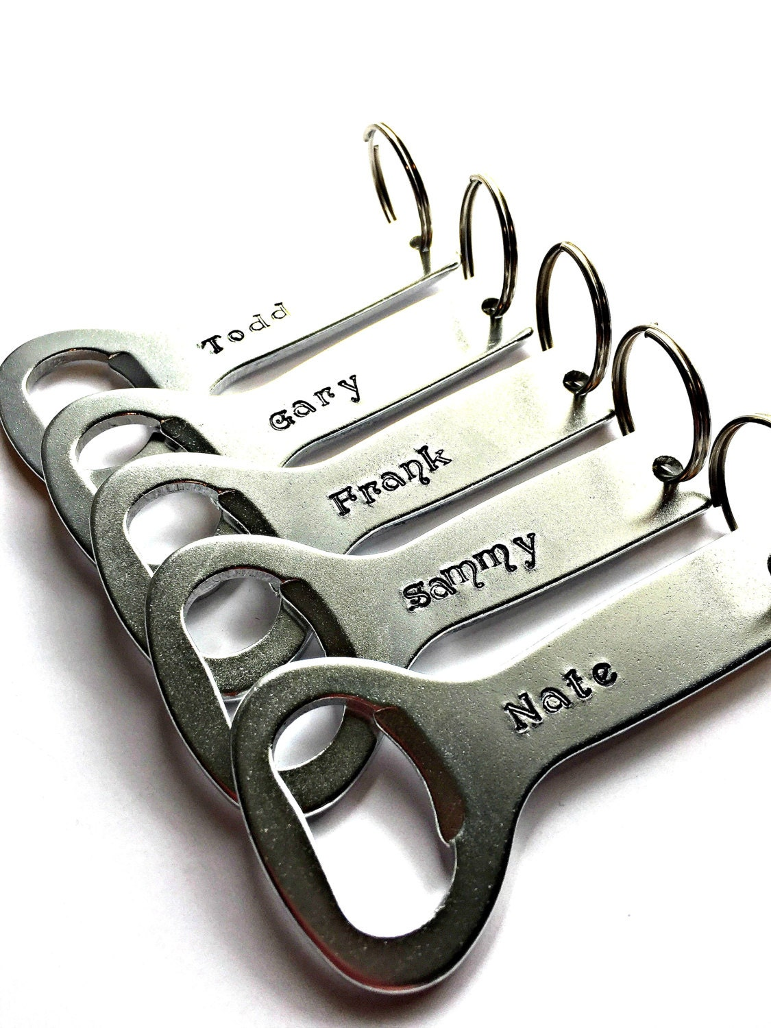 wedding favors personalized aluminum bottle openers keychain. Black Bedroom Furniture Sets. Home Design Ideas