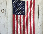 50 Star Vintage American Flag US USA 3' x 5'