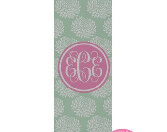 Monogrammed Yoga Mat - Personalized Exercise Mat - Custom pilates Mat - Fitness Mat - Gym Mat - Many Colors and Patterns to choose from
