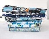 Fabric remnants- Fabric scraps- cotton- Designer prints - high- quality scraps for quilting, crafts, piecework