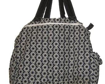 Flowered Diaper Bag