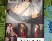 Vogue 8797 Cape, Stole, Scarf, Shawl Sewing Pattern All Sizes