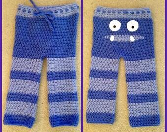 Crochet Monster Pants