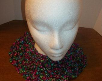 Crochet Cowl Necklace (A38)