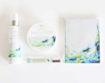 """Bath and Beauty Gift Set - Luxury Gift Set - Lotion and Home Fragrance Gift Set - """"Holland Falls"""""""