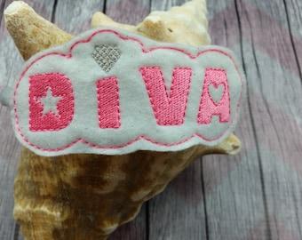 Diva Headband Slide On Accessories