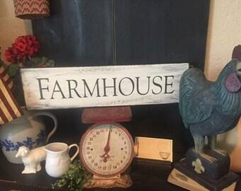 Farmhouse sign-Farmhouse Kitchen Sign-French Country Kitchen- rustic farmhouse