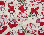 My melody fabric half yard