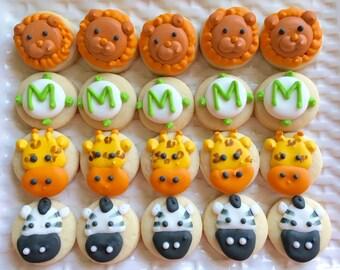 5 dozen Safari Animal Cookie Nibbles