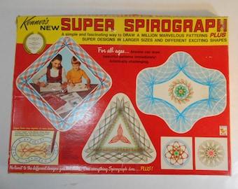 Kenner's Super Spirograph No 2400 Vintage 1967 Kenner's Made in USA