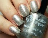 Silver chrome metallic nail polish (Silver Bells) indie nail polish
