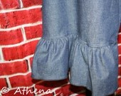 Capri Ruffle Pants - One ...
