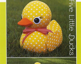 Five Little Ducks Stuffed Animal Pattern By Melly And Me