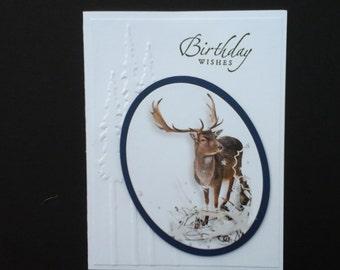 An Elegant Masculine Birthday Card