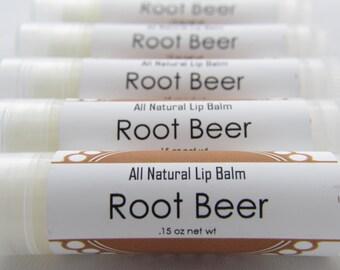 All Natural Lip Balm - Root Beer