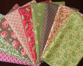 LAST ONE Honeysweet Fat Quarter Bundle of 9 by Joanna Figueroa for Moda