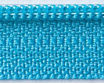 "Zipper 14"" Turquoise Splash Zipper ATK-353 Atkinson Design"