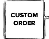 Custom Order For Diana, Locket Custom Photo Wedding Keepsake, Over 30 Satisfied  Brides,5 Star Reviews, FREE Gift/ Free SHIP USA