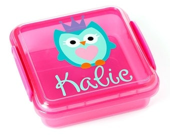 SALE! Personalized Sandwich Container with Lock Top