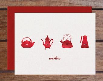 Warm Wishes Set (6 Foil Cards)