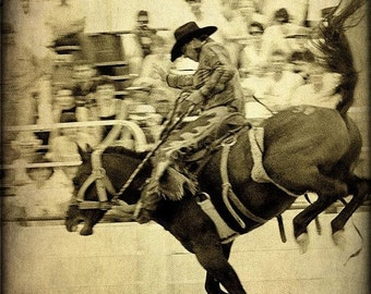 SALE Rodeo Cowboy Fine Art Photography Western Horse Texas Photographs