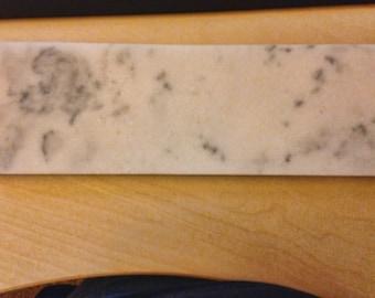 Marble Cheese Platter - 5lbs - Black Chalkboard Backside