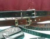 "Luxury 65"" belts , XXXXL Black leather belts , Brown big and tall belts , 65""dress belts"