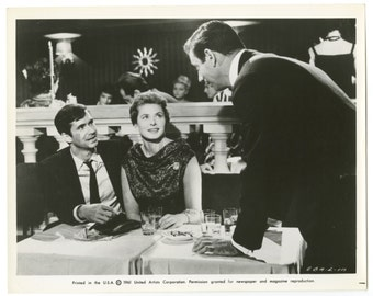 "Ingrid Bergman - ""goodbye Again"" - Original Vintage 8x10 Photograph"