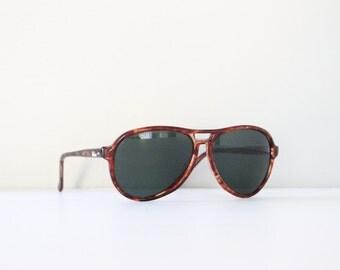 REI Aviator Sunglasses Tortoise Shell Plastic