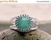 amazonite ring,silver ring,gemstone ring,sky blue ring,unique rings,delicate ring,mom gifts,bridesmaid rings